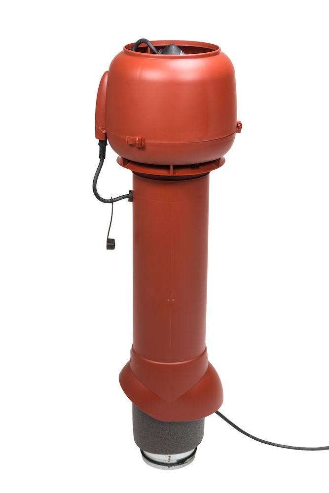 Выход вентиляции помещений 180 кв.м изолированный с электромотором Vilpe E120 P/125/700
