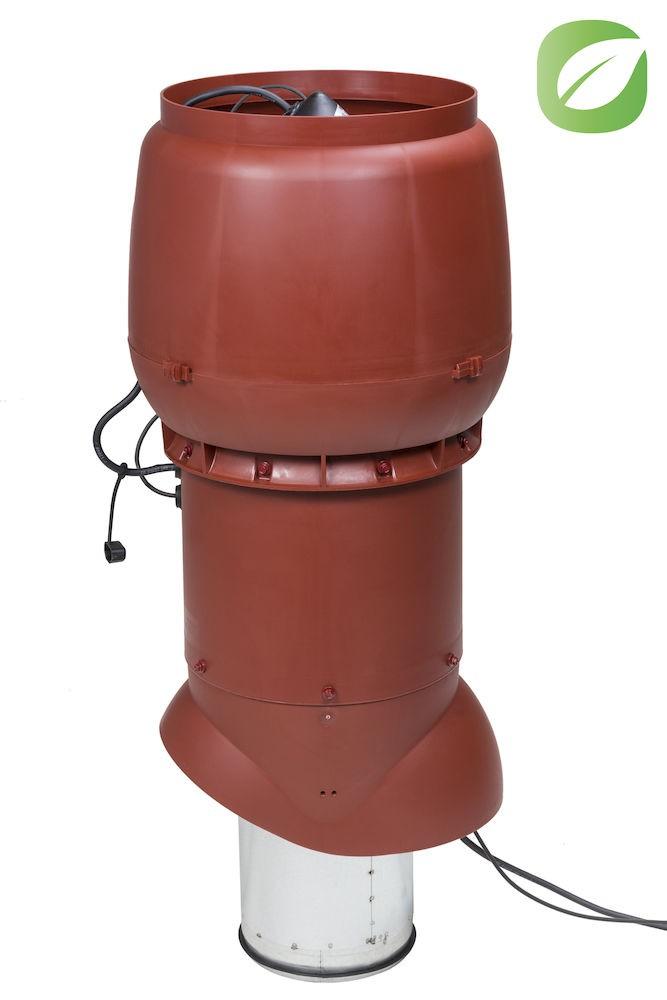 Выход вентиляции помещений 520 кв.м изолированный с электромотором Vilpe ЕCO250 Р/200/700