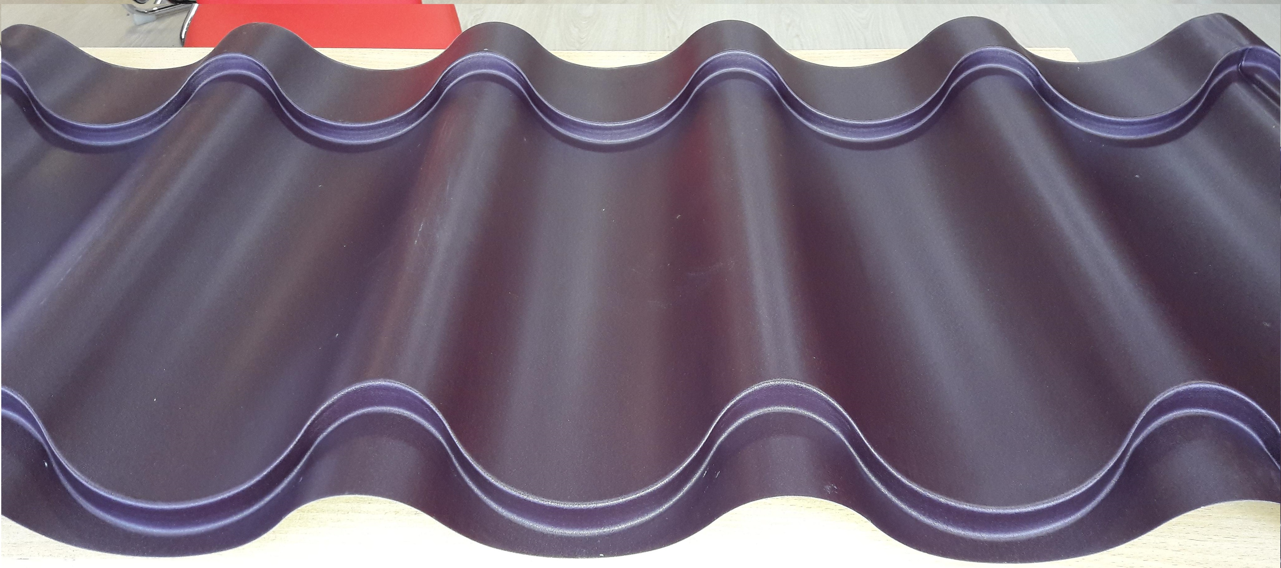 Металлочерепица Weckman Adeline Тип 1 0,50 мм в размер