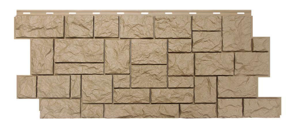 Фасадная панель Nordside «Северный камень» Бежевый, 463х1117 мм