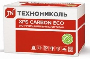 XPS CARBON ECO 580х1180х100; 2,737м2; 0,274м3; 4 шт