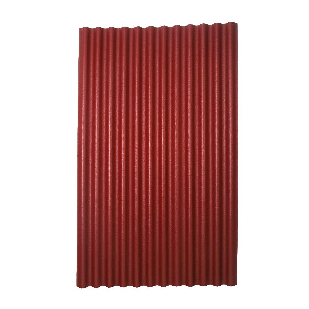 Волнистый лист Ондулин SMART 1950х950 Красный