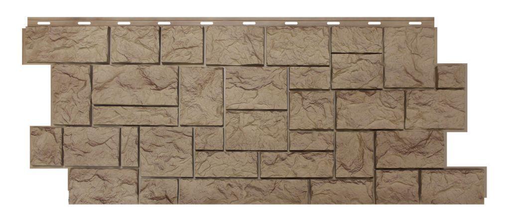 Фасадная панель Nordside «Северный камень» Песочный, 463х1117 мм