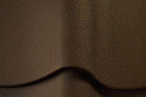 Металлочерепица Weckman 0,50 мм Пурал матовый (Pural Matt) Коричневый RR32 СКЛАД