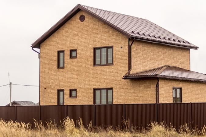 Фасадная панель Я-Фасад Крымский сланец Янтарь