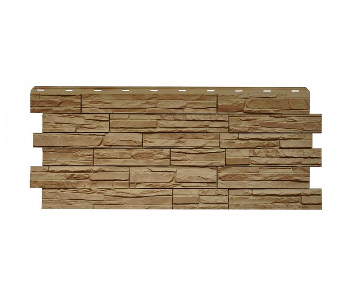 Фасадная панель Nordside «Сланец» Терракот, 463х1117 мм
