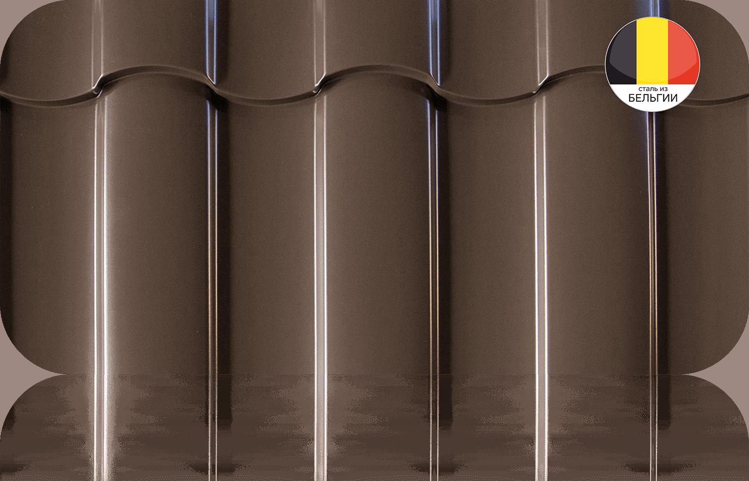 Металлочерепица в размер Grand Line Classic Quarzit Lite 0,50 мм