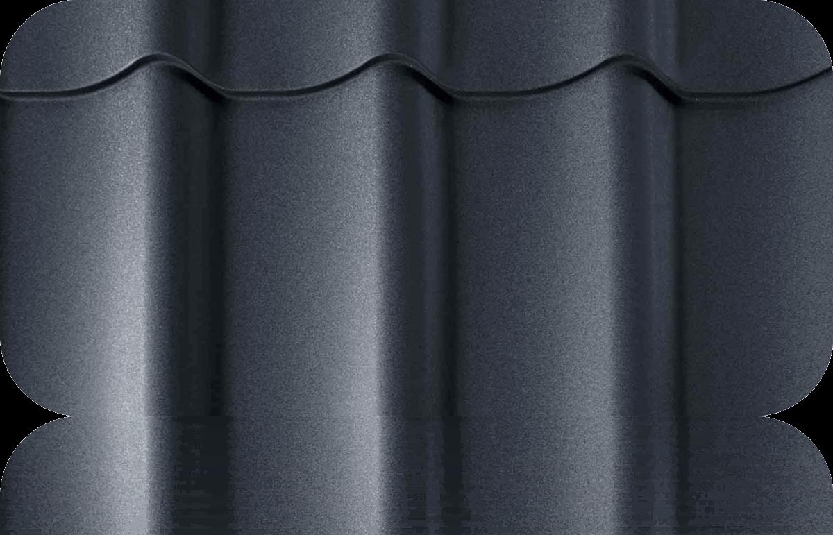 Металлочерепица в размер Grand Line Classic Стальной бархат 0,50 мм