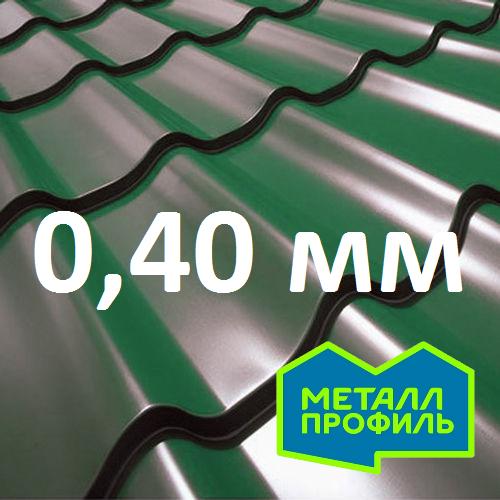 М/чер в размер Металл Профиль СуперМонтеррей Pe 0,40 мм