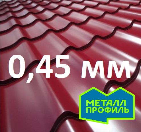 М/чер в размер Металл Профиль СуперМонтеррей Pe 0,45 мм