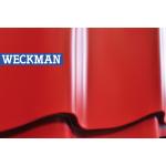 Металлочерепица Weckman 0,45 мм полиэстер (Pe) Красный RR29 СКЛАД