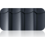 М/черепица 0,50 мм, матовое покрытие Стальной бархат 25-30 микрон, цинк 180 г/м2, гарантия 25 лет