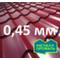 М/чер в размер МеталлПрофиль Монтеррей Pe 0,45 мм