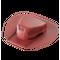 Аэратор для битумной черепицы Döcke PIE ROOT Красный (установка в процессе монтажа)