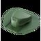 Аэратор для битумной черепицы Döcke PIE ROOT Зеленый (установка в процессе монтажа)