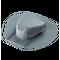 Аэратор для битумной черепицы Döcke PIE ROOT Серый (установка в процессе монтажа)